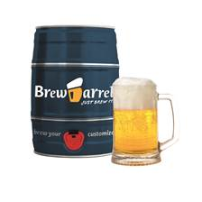 Buy & Send BrewBarrel Brew Your Own Lager Kit